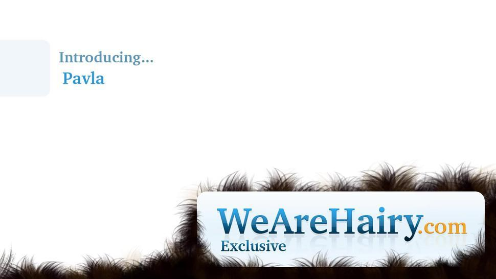 We Are Hairy - Pavla cooks in the kitchen and strips naked there