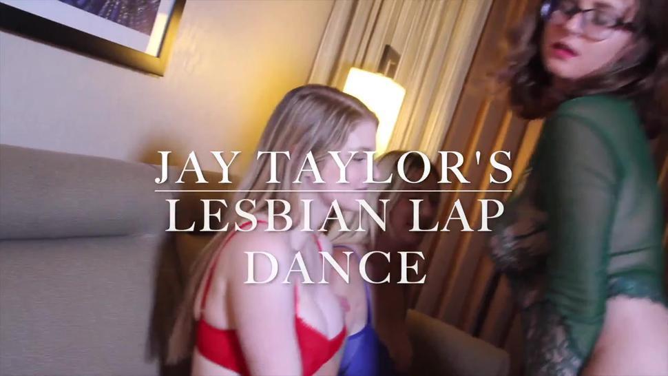Lesbian Lap Dance Threesome