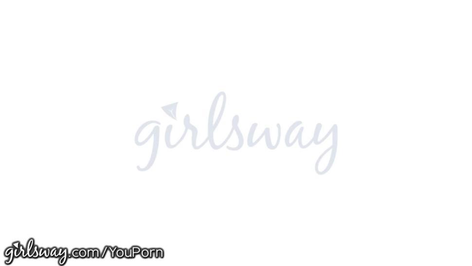 Girlsway Aali Kali & Zoey Foxx Taste Each Other's Breast Milk
