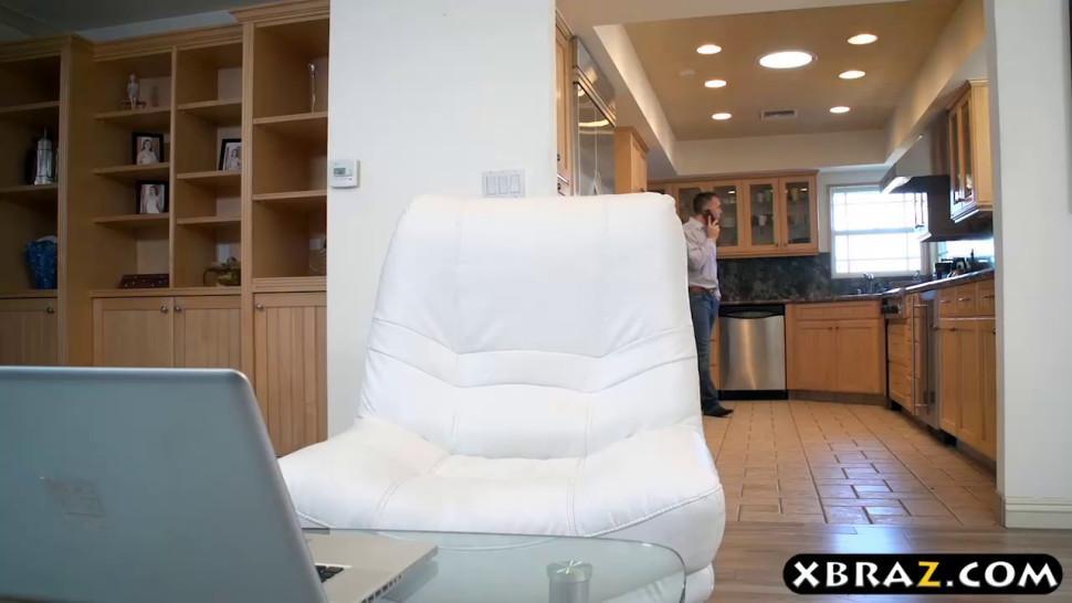 Brandi Love and Alexis Fawx provide a home service