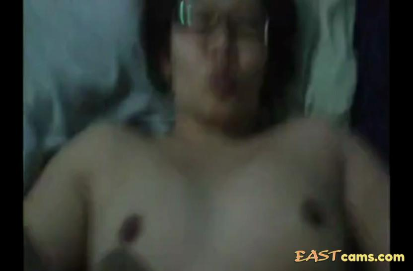 Geeky Asian gets her fat vagina fucked POV