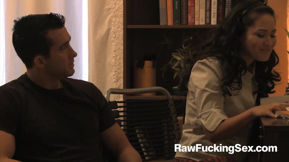 Raw Fucking Sex - Jessica Bangkok Craves For Big Dick