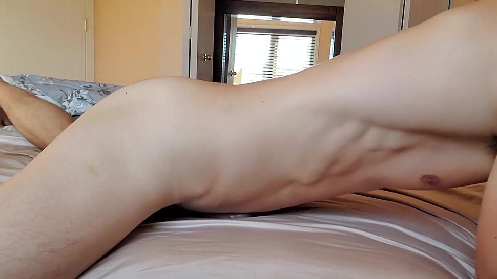 rubbing into the bed until I cum