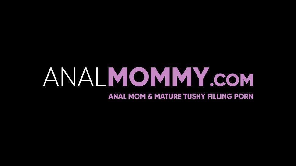 ANAL MOMMY - Tattooed MILF Joslyn James hardcore reverse cowgirl pounding