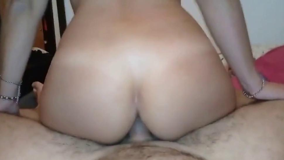 Anal riding pussy riding