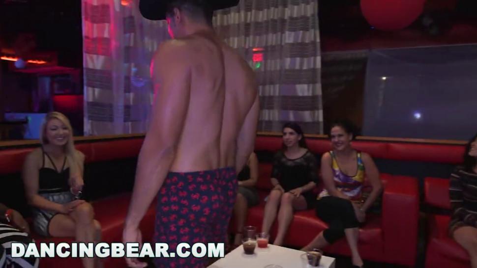 Dancing Bear - Big Dick Studs Sling Cock In Strip Club During Cfnm Party