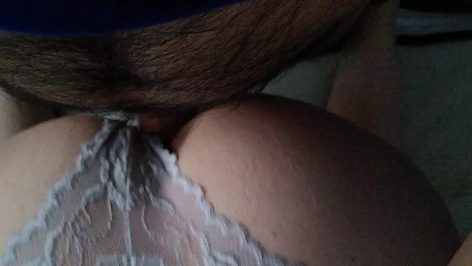 Pregnant milf doggy