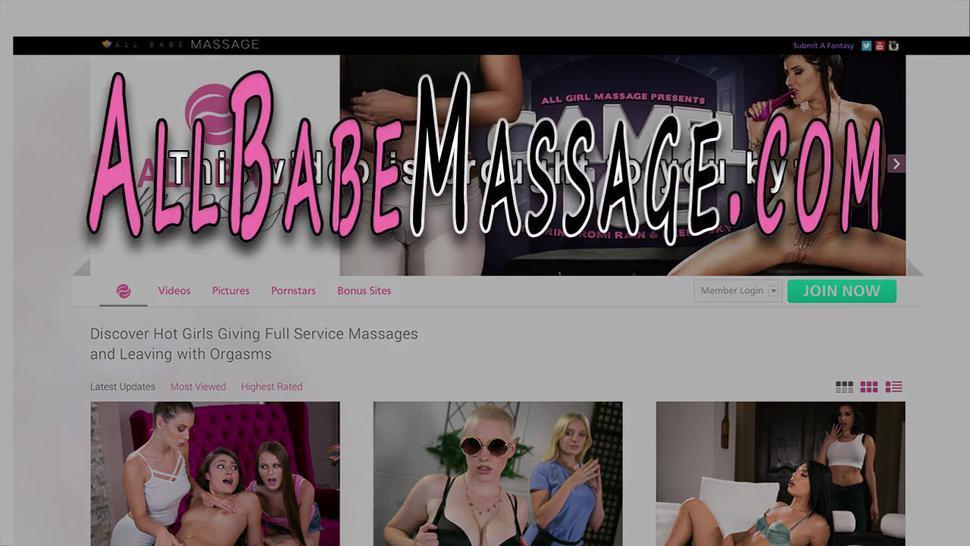 ALL GIRL MASSAGE - Eaten out latina masseuse tribs busty lesbian