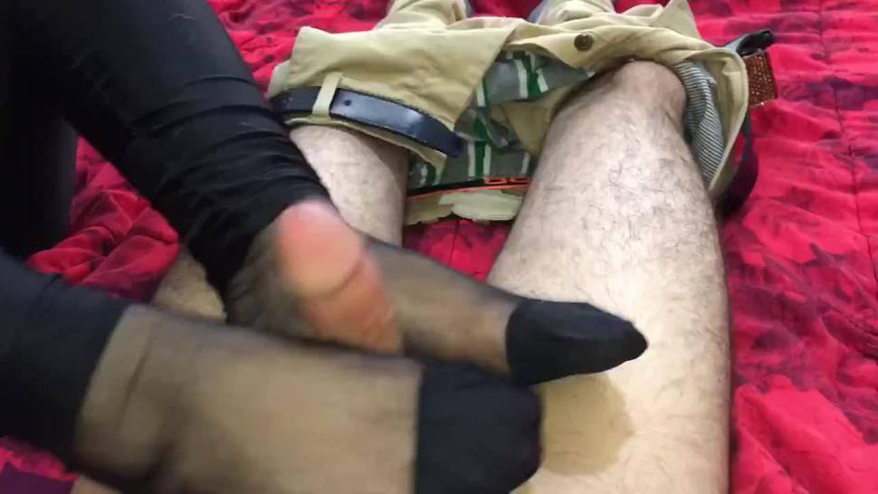 Persian Mistress Footjob Sample 1