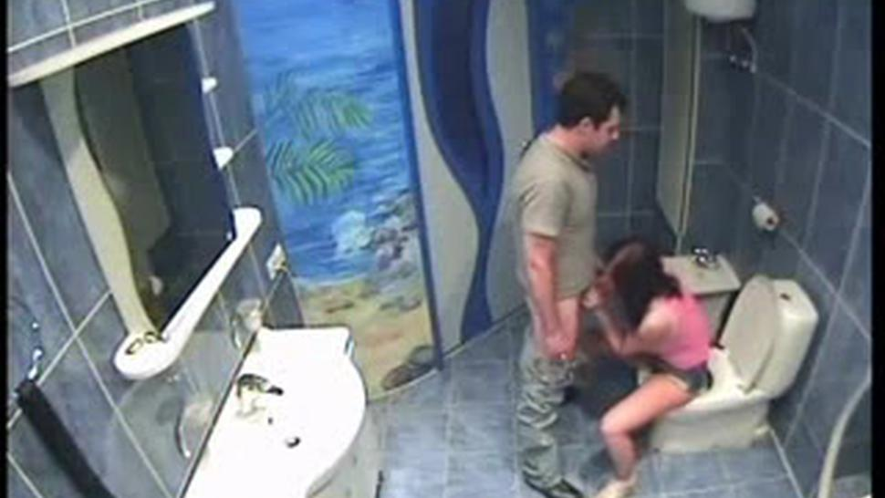 Couple Caught By Hidden Camera In Hotels Bathroom Pt2