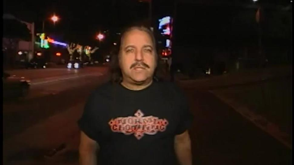 Ron Jeremy On The Loose On Sunset Blvd
