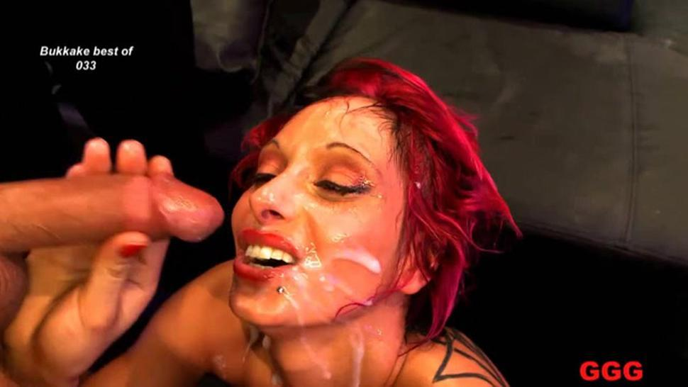 Filling babes mouths with jizz
