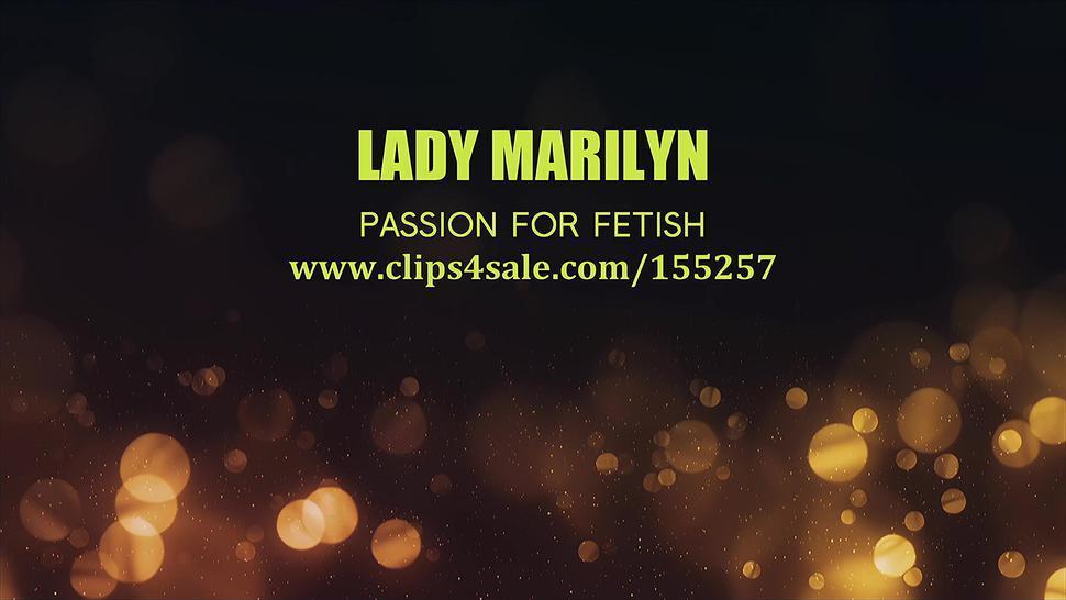 Lady Marilyn in crazy fetish