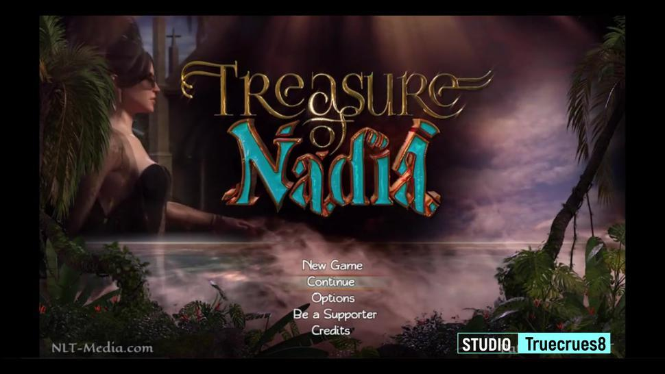 Treasure of Nadia V.51092 Clare and Diane Threesome in the Forest by Truecrues8