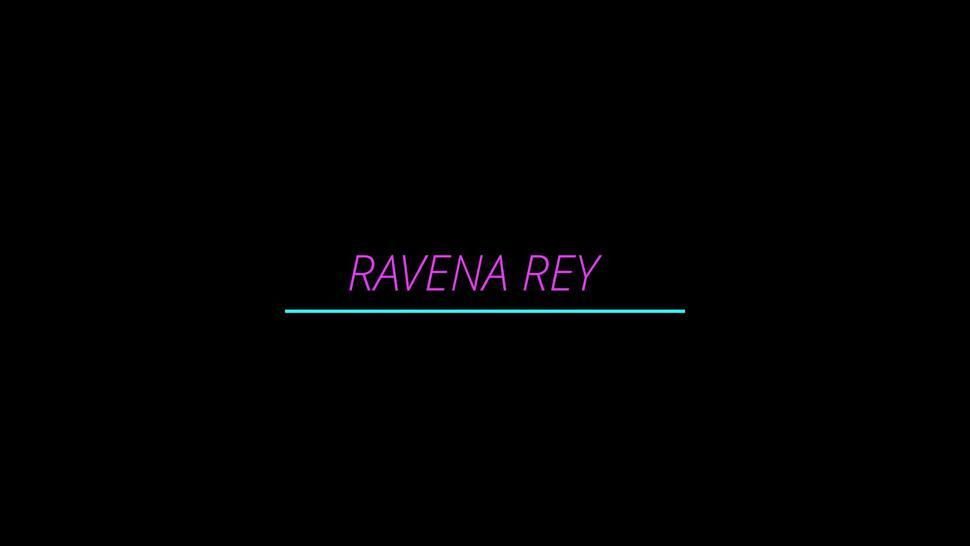 Ravena Rey Is A Hot Little Screw Slut As Thick White Pussy Cream Drips Down His Aching Balls