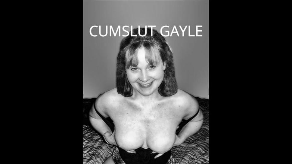Cumslut Gayle cumshot compilation