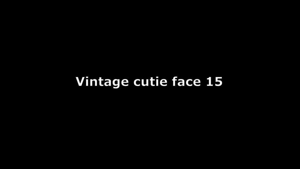Vintage cutie face 15