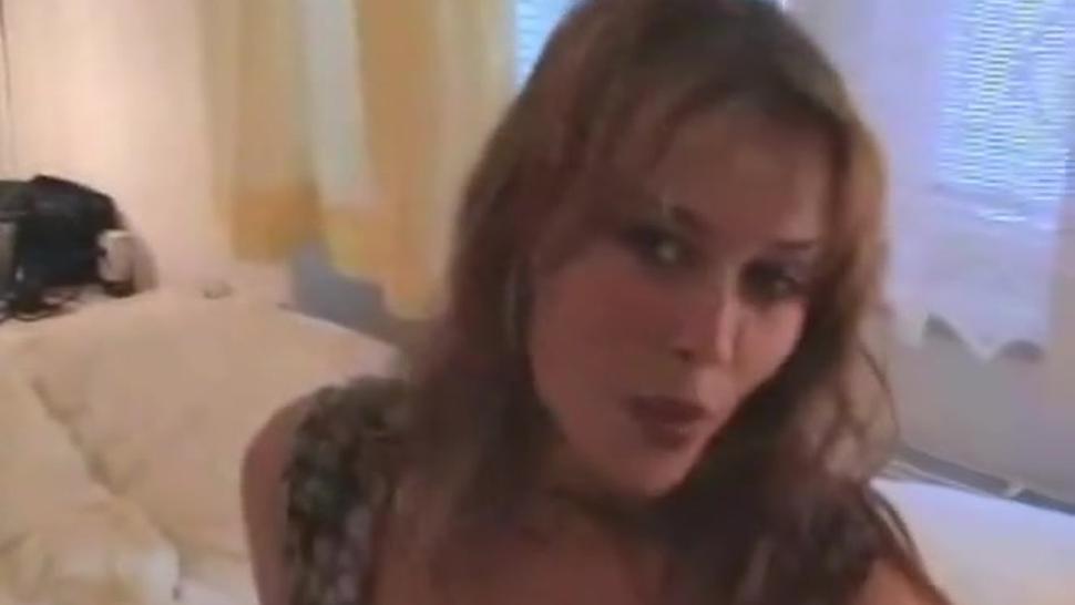 AMWF Krystal De Boor Czech Woman Green Eyes Hot Sexy Large Areola Sluty Anal Sex Chinese Old Man