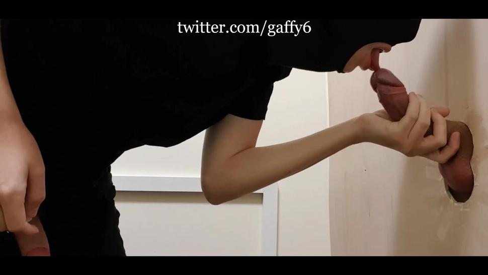 uncut straight guy first blowjob at gloryhole by chav twink onlyfans preview