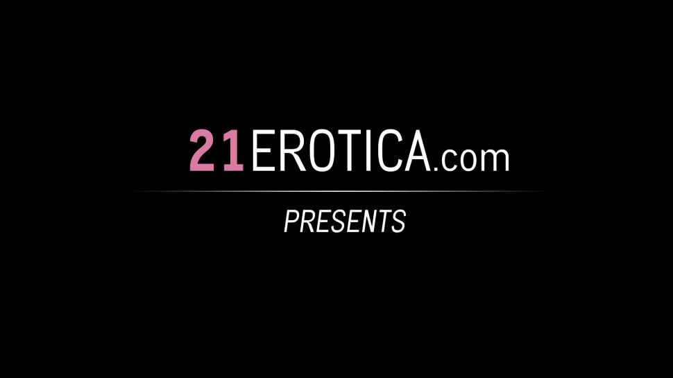 21EROTICA - Skinny Cutie Takes Dick in Her Ass After an Erotic Blowjob