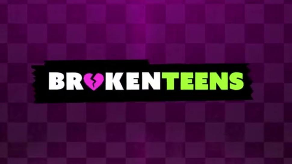 BrokenTeens - Poor Little Teen Turned into a Whore