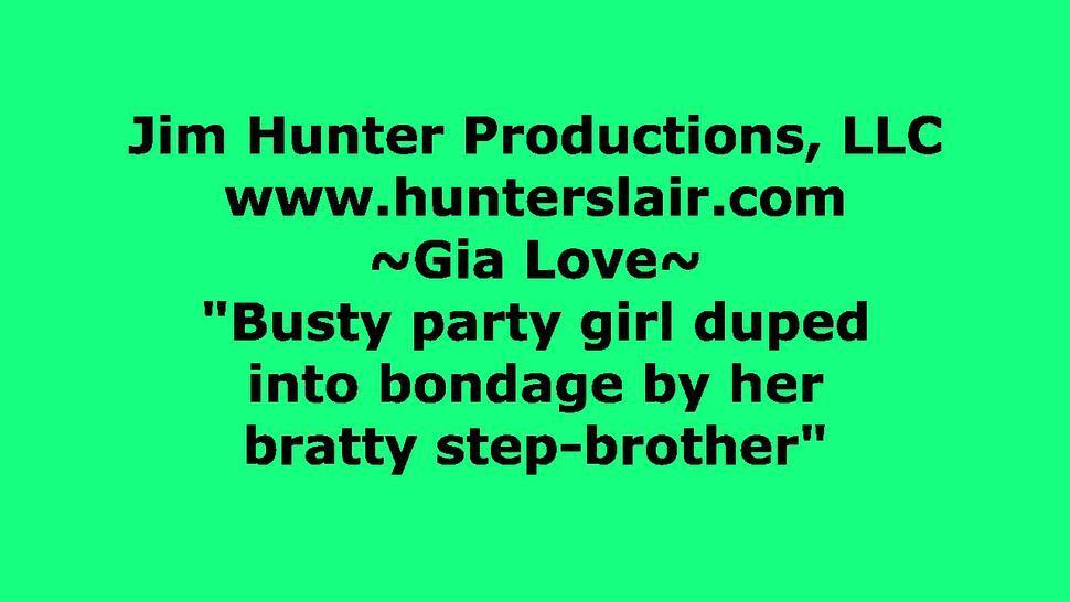 Busty Party Girl Duped into Bondage