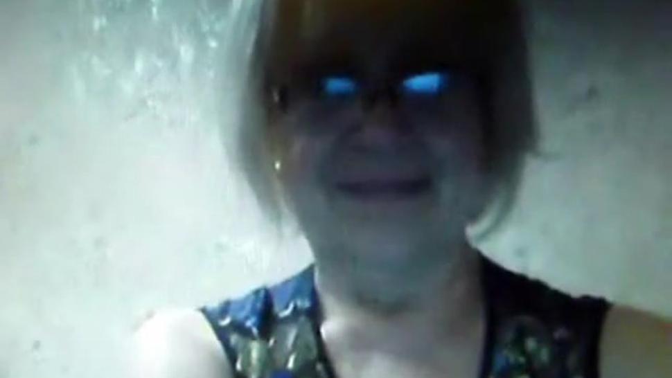 Tatiana 68 yo boobs  cunt on webcam Russ amateur