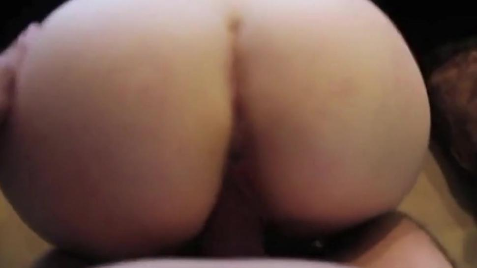 She Rides His Dick Reverse Cowgirl