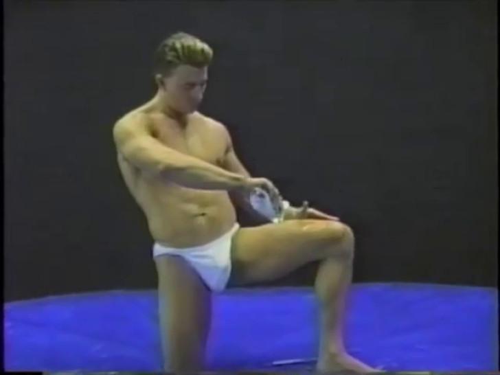 BG Enterprise: Canadian Nude Oil Wrestling 3 - Bout 4: Johnny Lightning vs Jimmy Dean