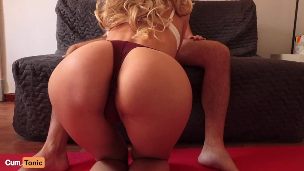 He Can't Handle My Big Oiled Butt and Came Too Fast