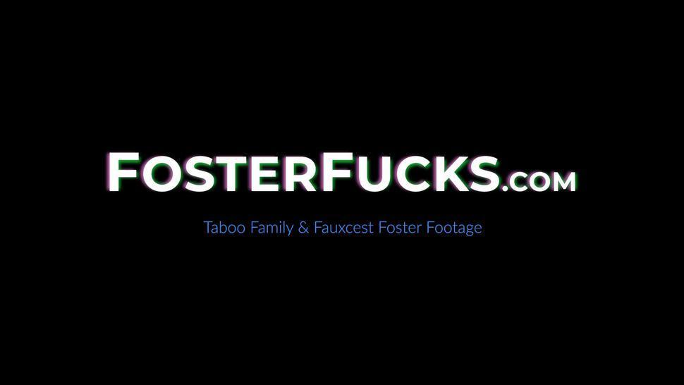 FOSTER FUCKS - MILF Brandi Love has forbidden 3some sex with Ryder Rey
