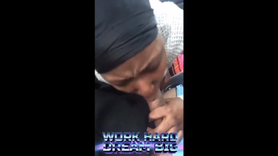 Hot Little Black Haitian Bitch Giving Top