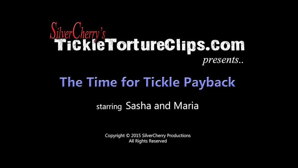 Time for Tickle Payback - Sasha Foxxx