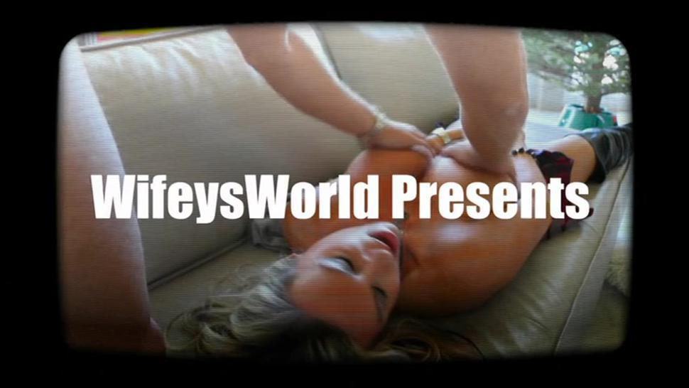 Busty Blonde Rides Rough Dong - Wifey'S World