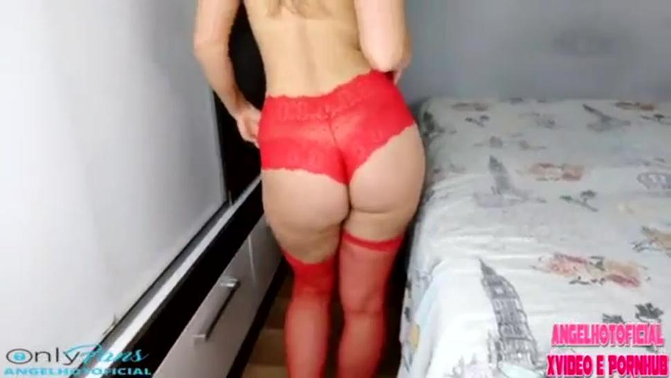 Brazilian girl got her little white pussy destroyed by the big fat black cock