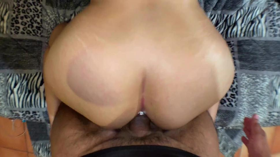 Double Penetration With Plug And Trying Out Anal. Love Riding Cock And Feeling Him Inside My Ass