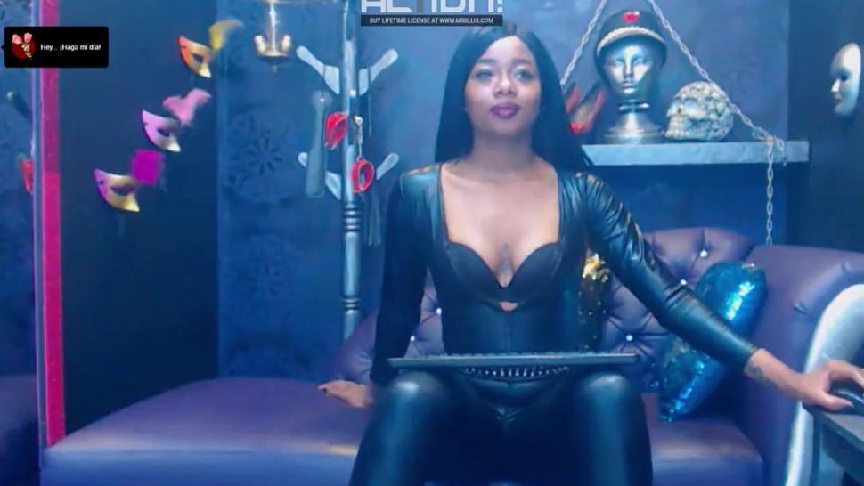 Colombian webcam leather mistress