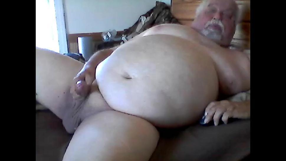 Grandpa Cums Again