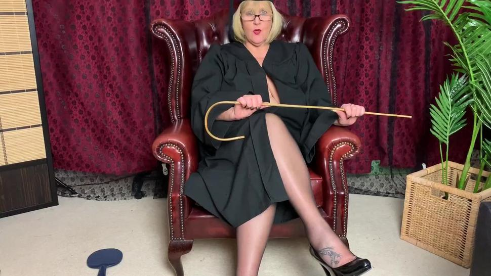 Big Tit, Mature Teacher in sexy stockings wants you to do as you're told!