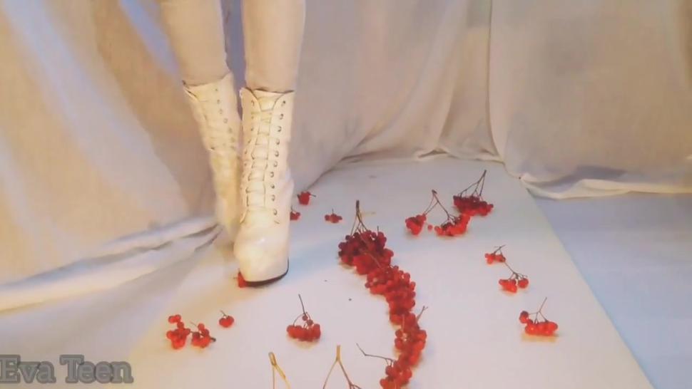 High heels boots crush rowan