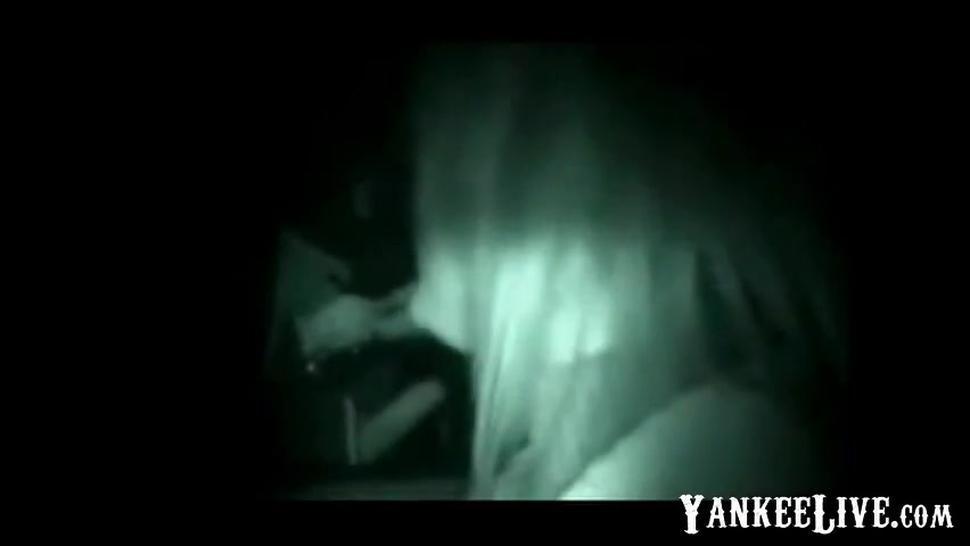 Night vision - Dogging 18 Year Girl