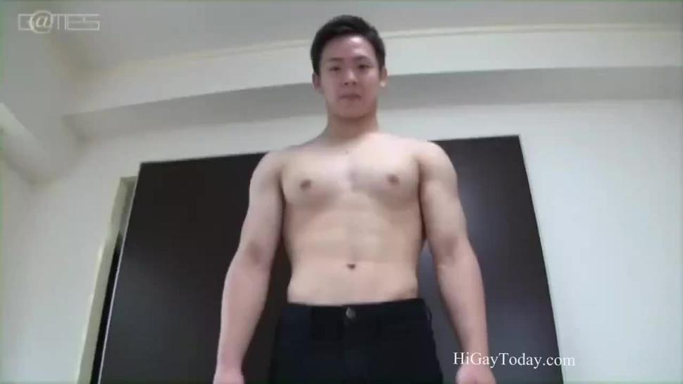 Young Asian Boy Enjoy Creampie in his little whole