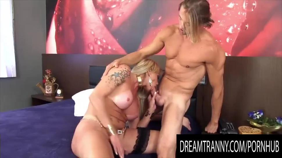 Dream Tranny - Shemale Blowjobs Compilation Part 22