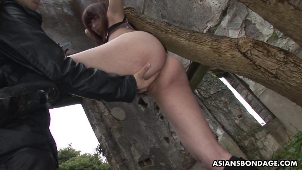 ASIANS BONDAGE - Lusty girl Sayo Hayakawa got stuffed with sex toys