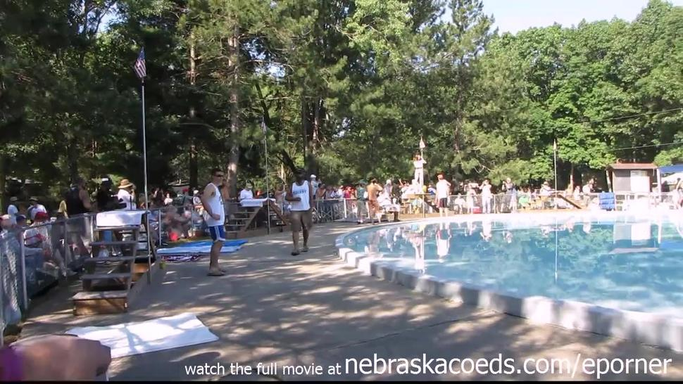 Strippers Raw And Naked In Public At Awesome Nudes A Poppin Festival Indiana - Indiana A