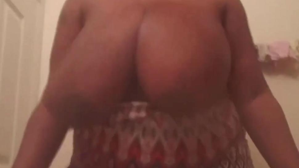 huge monster black boobs