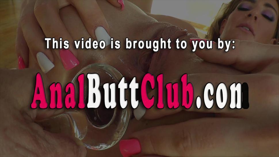 BUTTMAN - Butt fucked fetish teen gets cum in mouth
