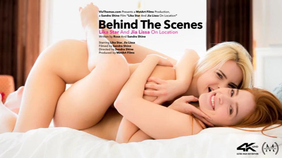 Lika Star , Jia Lissa - Behind The Scenes - VivThomas 06.09.2020. #Teen #Lesbian