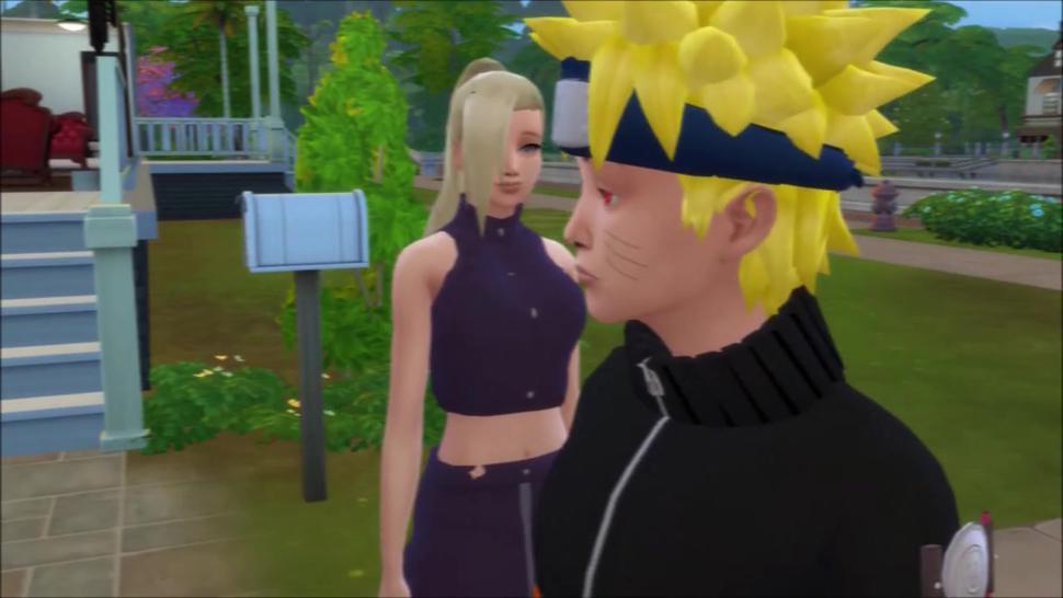 Naruto Sims WW - Naruto fucks  Ino, Hinata and Sakura