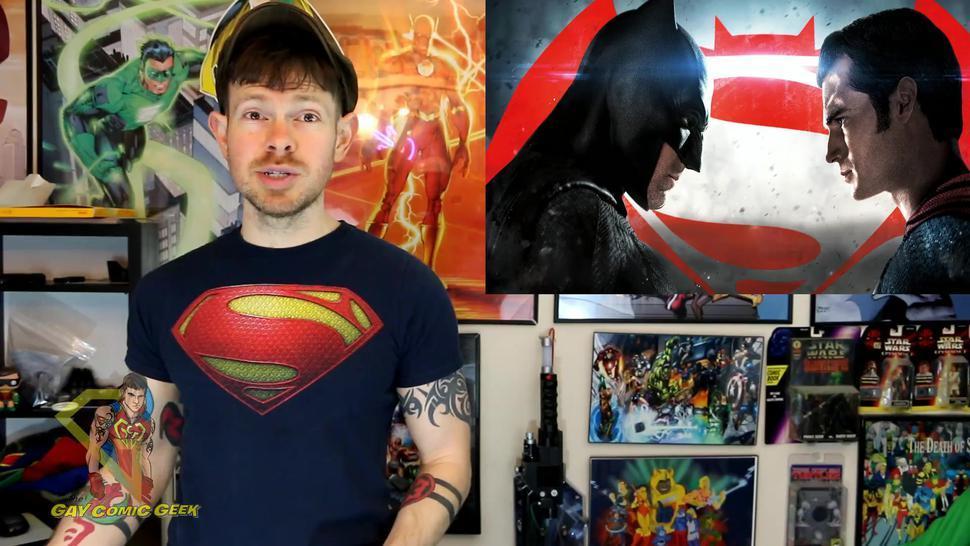 Batman v Superman - A Gay XXX Parody Part 1 - Review